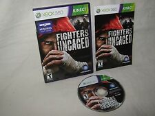 Xbox 360 Fighters Uncaged Kinect Game Complete CIB