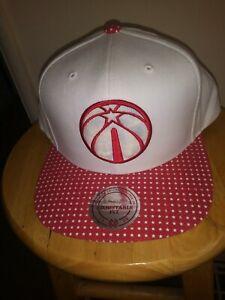 sale retailer 7371f 491f6 Image is loading Washington-Wizards-Hat-Mitchell-amp-Ness-NBA-Stars-