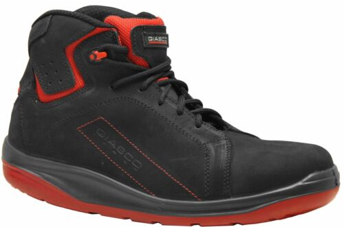 Lightly Health Shoes S3 Gym Safety Shoes,Nubuck Leather,ergo-safe Sole
