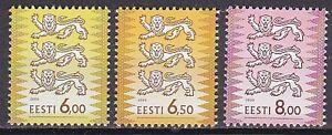 ESTONIA-2000-MNH-SC-382C-382D-382E-Three-Lions