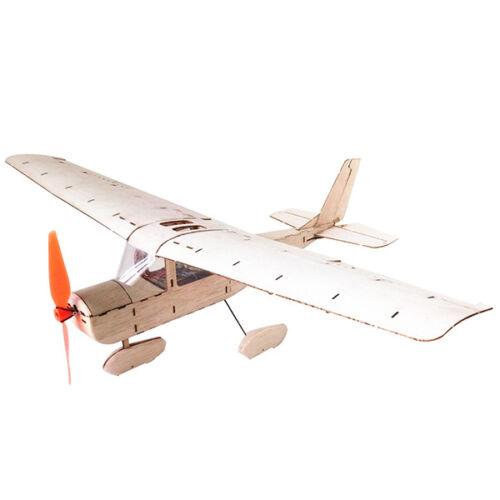 Mini Cessna 182 435 mm envergure Balsa Découpe Laser Radio Control Airplane Kit