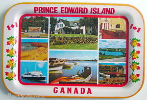 VINTAGE-1960-039-s-PRINCE-EDWARD-ISLAND-SOUVENIR-TRAY