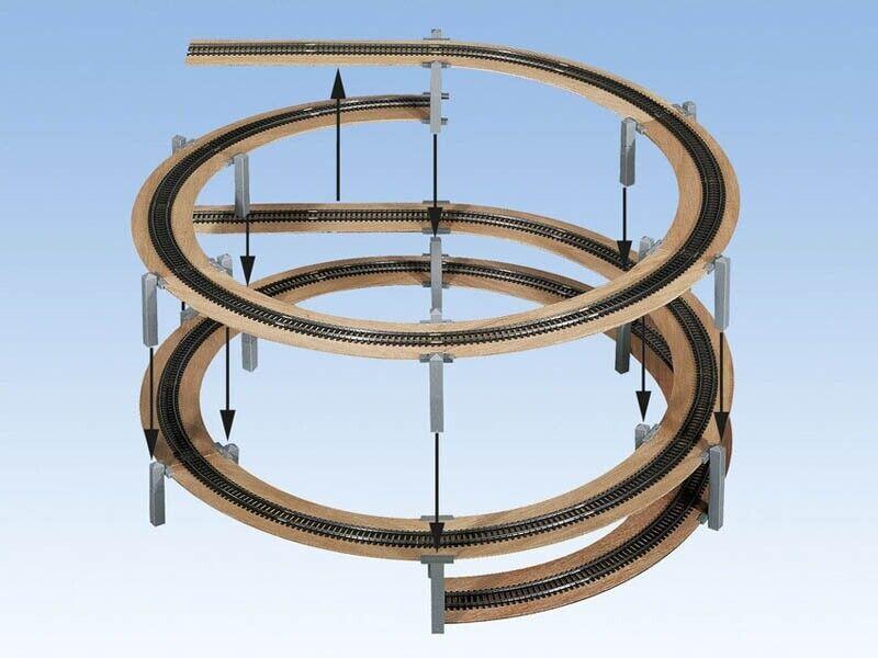 Todavía 53107 laggies gleiswendel-kit completo, construcción círculo, pista h0