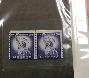 BJSTAMPS-1057c-3-Tagged-Rare-Look-Magazine-printing-line-PAIR-NH-cat-350