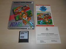 Donkey Kong Junior By Nintendo Complete Game In Big Box Atari DK CIB Jr.