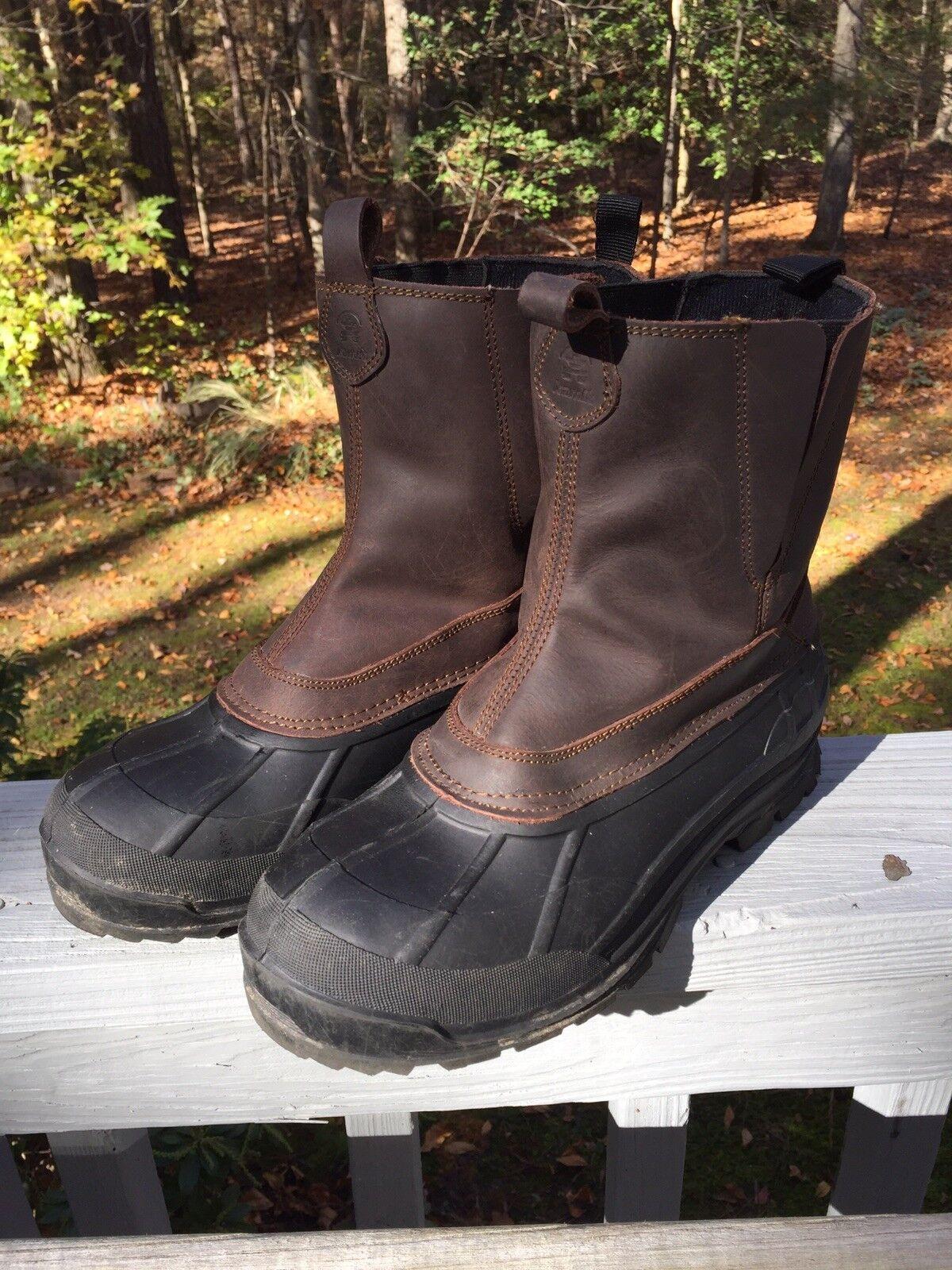 Kamik Dawson Boots, Mens 12D, Thinsulate Lined, EUC