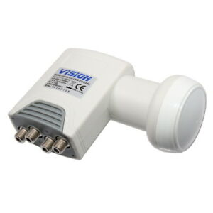 LNB-Quad-0-1dB-Vision-Universal-Edition-4-Sorties-pour-1-Satellite-Demos