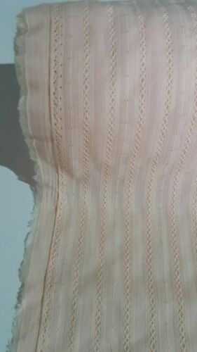 PEACH COLOUR 100/%COTTON FABRIC-140 CM  Wide-SOLD BY THE METER