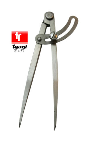"""10 /"""" WING COMPASS DIVIDER LOCKING WING 250MM"""