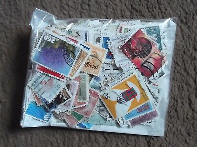 mix of 500 different used world stamps (lot 10)