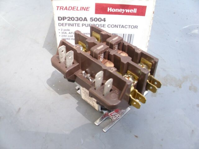 Honeywell Dp2030a 5004 Definite Purpose Contactor