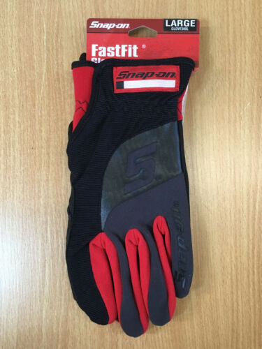 Snap-On Tools Fast Fit Gloves Easy On//Off Cuffs Brand New with Tags