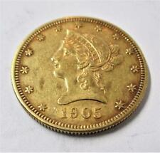 1905 S $ 10 Gold Eagle - Lot 8A