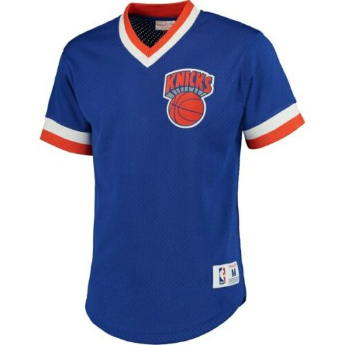 New York Knicks NBA Mitchell /& Ness homme col v en maille jersey-Différentes Tailles-Neuf