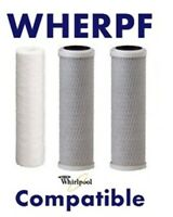 Wherpf Whirpool Compatible 3 Filter Set Wher-pf