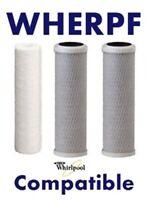 Wherpf Whirpool Compatible 3 Filter Set Wher-pf