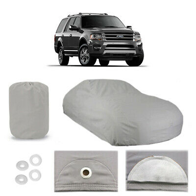 Soft Breathable Dust Proof UV Water Indoor Outdoor Car 5665 5 Layer SUV Cover