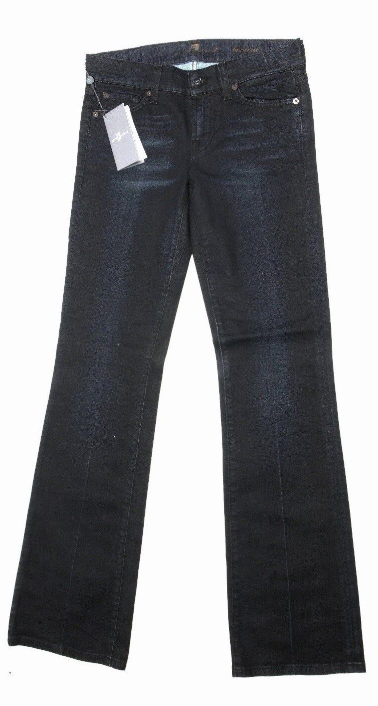 7 For All mankind women's jeans Navy bootcut size 25 RRP  BNWT