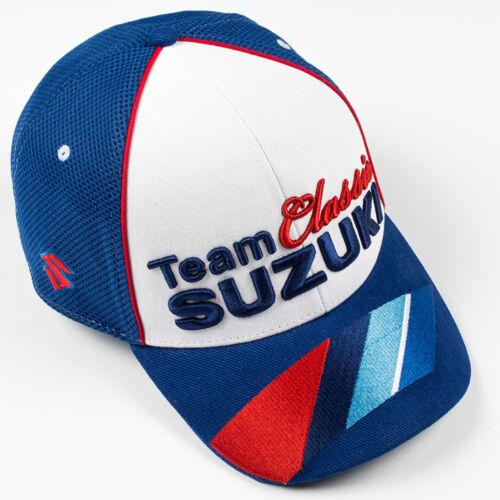 Suzuki Team Classic Official Merchandise Adulte Moto Casquette Baseball