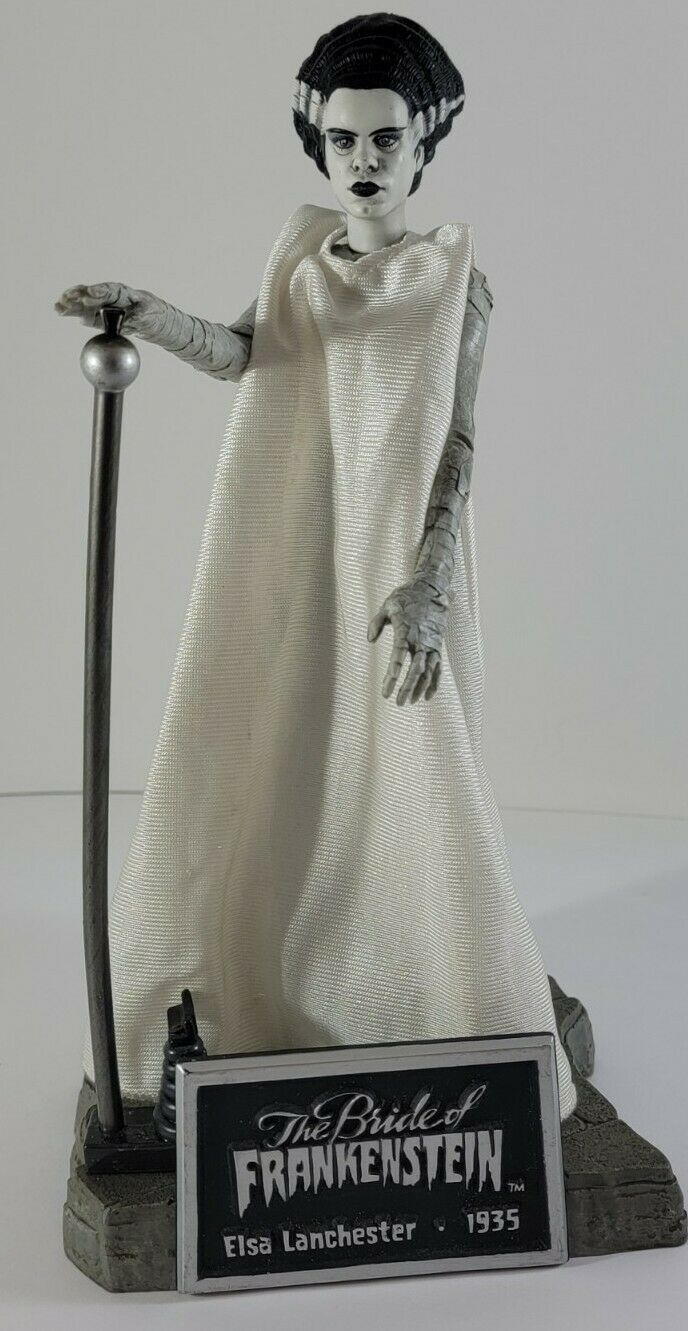 Sideshow Collectibles Universal Monsters Bride of Frankenstein Figure on eBay thumbnail