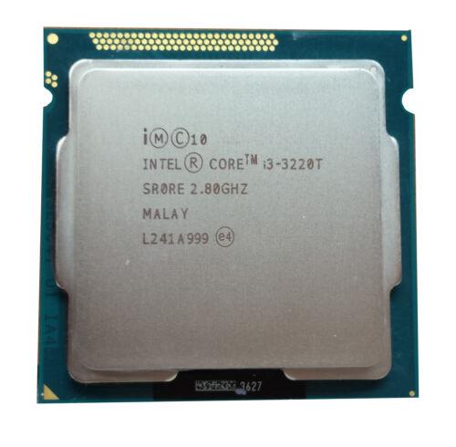 Intel Core i3-3220T 2.8GHz LGA 1155//Socket H2 5 GT//s CPU SR0RE