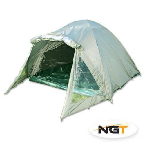 NGT 2 Man Double Skinned Green Bivvy (004)