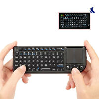 2.4G Mini Wireless Keyboard Touchpad Remote iPazzPort for Smart TV/PC/ Android