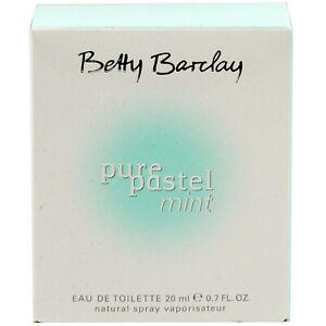 Betty-Barclay-PURE-PASTEL-MINT-20-ml-Eau-de-Toilette-EdT-Spray-for-woman