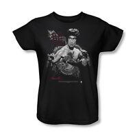 Bruce Lee The Dragon Women's T-shirt Sizes S-2x