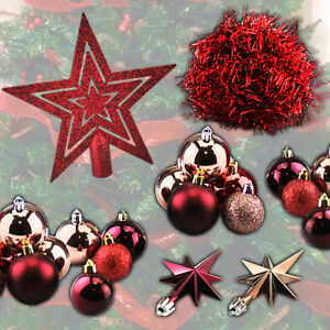 Ebay Christmas Baubles.Details About Christmas Decorations Tree Tinsel Star Xmas Baubles Silver Glitter Sparkle Home