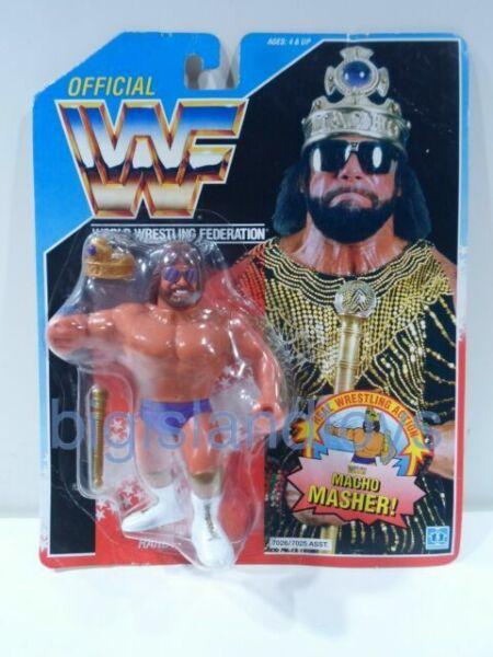 WWF classique Trading Card GOLD-Macho Man Randy Savage #68 Hasbro WWE WRESTLING