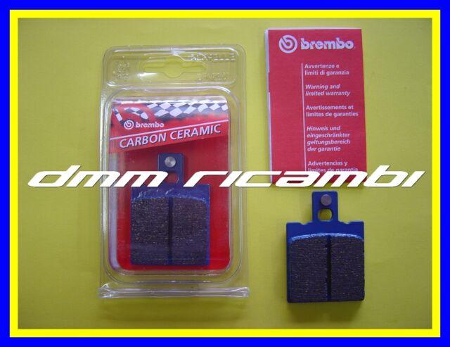 Pastiglie freno posteriori BREMBO DUCATI MONSTER 600 98 Carbon Ceramic 1998