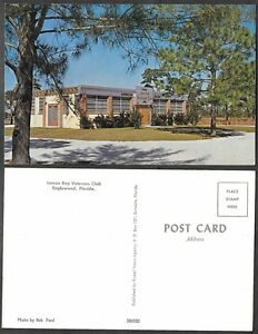 Old Postcard - Englewood, Florida - Lemon Bay Veterans ...