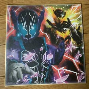 Bandai-Kamen-Rider-Rogue-13cm-Juguete-Tarjeta-Mini-Shikishi-Japon-Anime