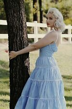 Rockabilly Dress Pinup Marilyn Monroe Reproduction Dress Size 22 NWOT