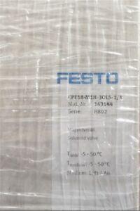 1Pc-Neues-Festo-CPE18-M1H-3OLS-1-4-163144-Magnetventil-ba