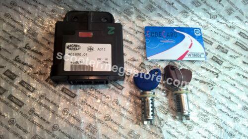 99-09 Piaggio VESPA LX LXV ET4 FLY 150 CDI KEY SET 584701 58050R 486954 58050R