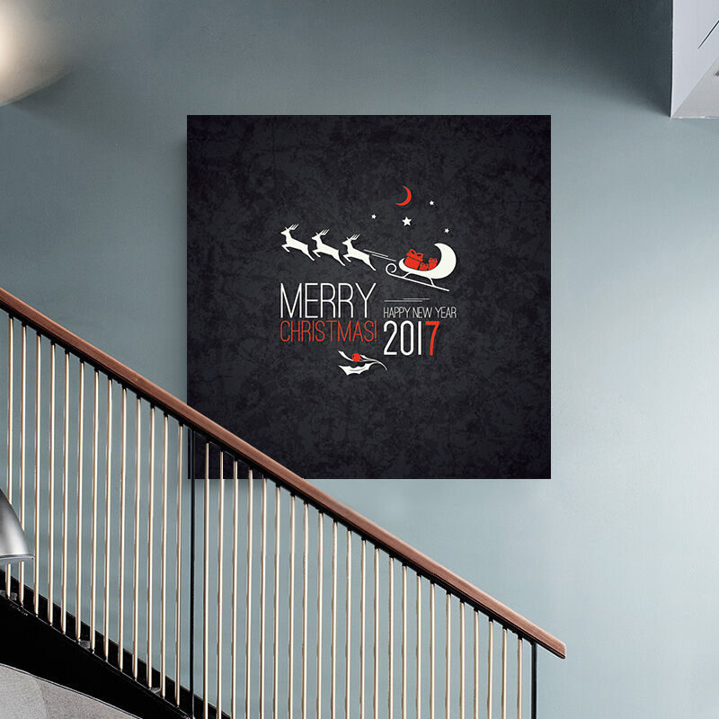 3D Schwarz Weihnachten Plakat 9 Fototapeten Wandbild BildTapete AJSTORE DE Lemon