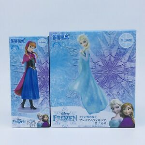 Disney FROZEN Premium Crystal Snow Globe Princess Elsa Japan Sega 2014