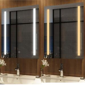Led Spiegel Badspiegel Mit Beleuchtung Badezimmerspiegel Bad