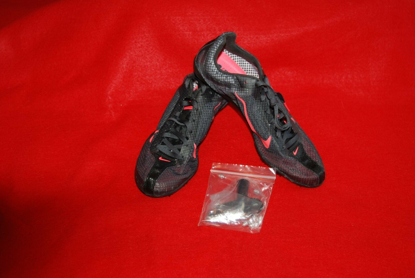 Nike Mens Zoom Mamba 2 Track Spikes Unisex w Spikes Tool Bag  487345-060 Size 7