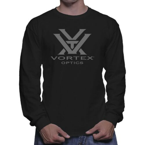Vortex AR-15 Riflescope Binocular Hunting Long Sleeve Black T-shirt Size S To 5X