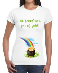 ac143d6a We Found Our Pot Of Gold T Shirt Pregnancy St Patricks Day Maternity ...