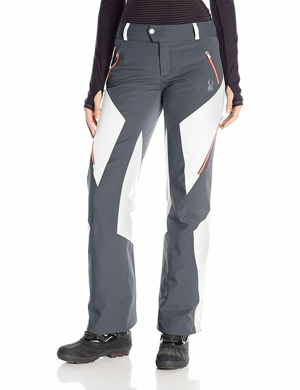 Spyder Womens Thrill Athletic Fit Pants, Size 14 Inseam L, Ski Snowboarding Pant