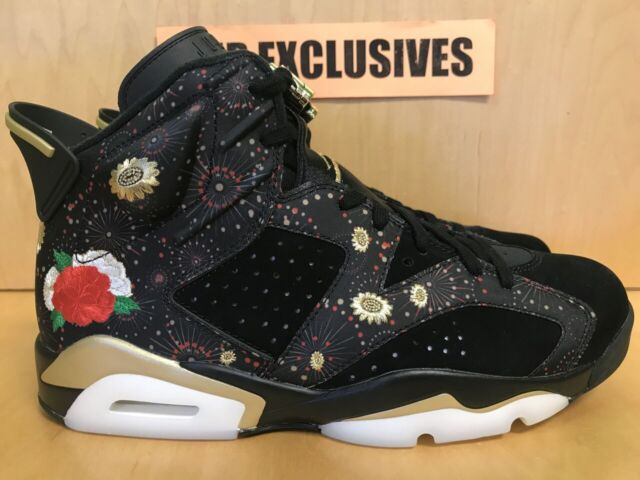 9a42a07a45cc 2018 Air Jordan 6 VI Retro CNY Chinese Year Black Gold Aa2492-021 14 ...