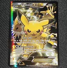 Pikachu EX XY Red-Blue XY124 Black Star Promo NEAR MINT Pokemon Card
