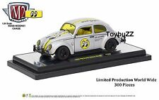 M2 MACHINES 1:24 AUTO THENTICS VOLKSWAGEN VW BEETLE MOONEYES CHASE 40300-MOON01A