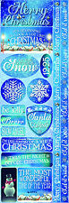 Reminisce CHRISTMAS TOWN COMBO Cardstock Stickers scrapbooking SNOW