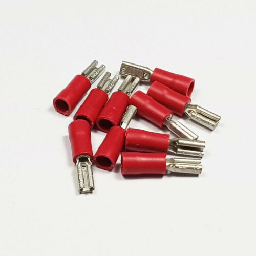 Insulated Female Spade Terminals Red Blue Yellow Crimp Terminal BULK Listing