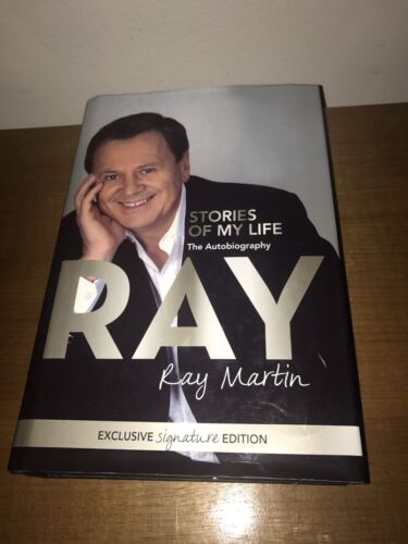 1 of 1 - SIGNED - Ray: Stories of My Life by Ray Martin (Hardback, 2009)